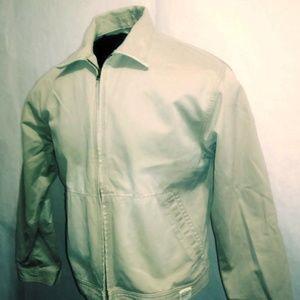 AMERICAN EAGLE OUTFITTERS Tan Khaki Canvas Jacket